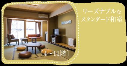 [4〜10階]リーズナブルなスタンダード和室