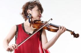 ミュージックシンフォニー「入山ひとみバイオリン演奏」