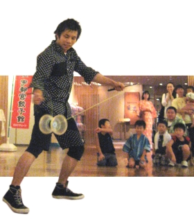 Yoshi の 大道芸